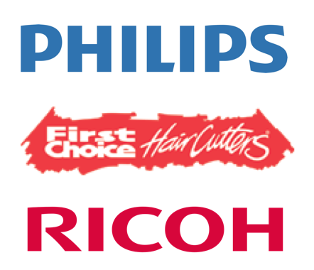Philips Logo, FCH Logo and Ricoh Logo