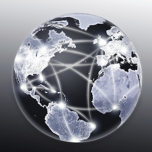 Connected throughout the world - World Wide Web